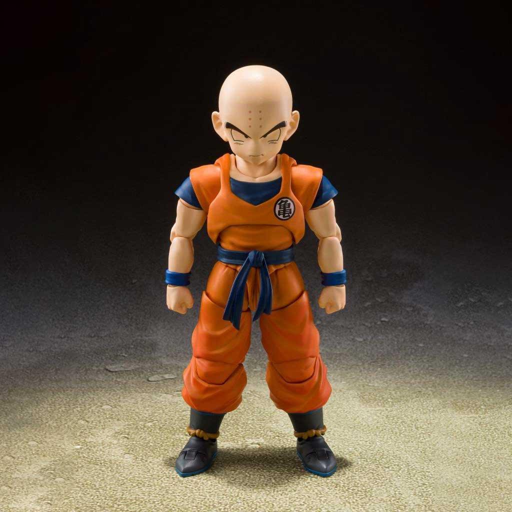 "Bandai Spirits S.H.Figuarts Krillin - Earth's Strongest Man- ""Dragonball Z"""