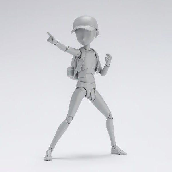 Bandai Spirits S.H.Figuarts Body Kun -Ken Sugimori- EditionXDx Set (Gray Color Ver.)