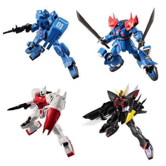 Bandai Shokugan G Frame Mobile Suit Gundam V14 (5/Box)