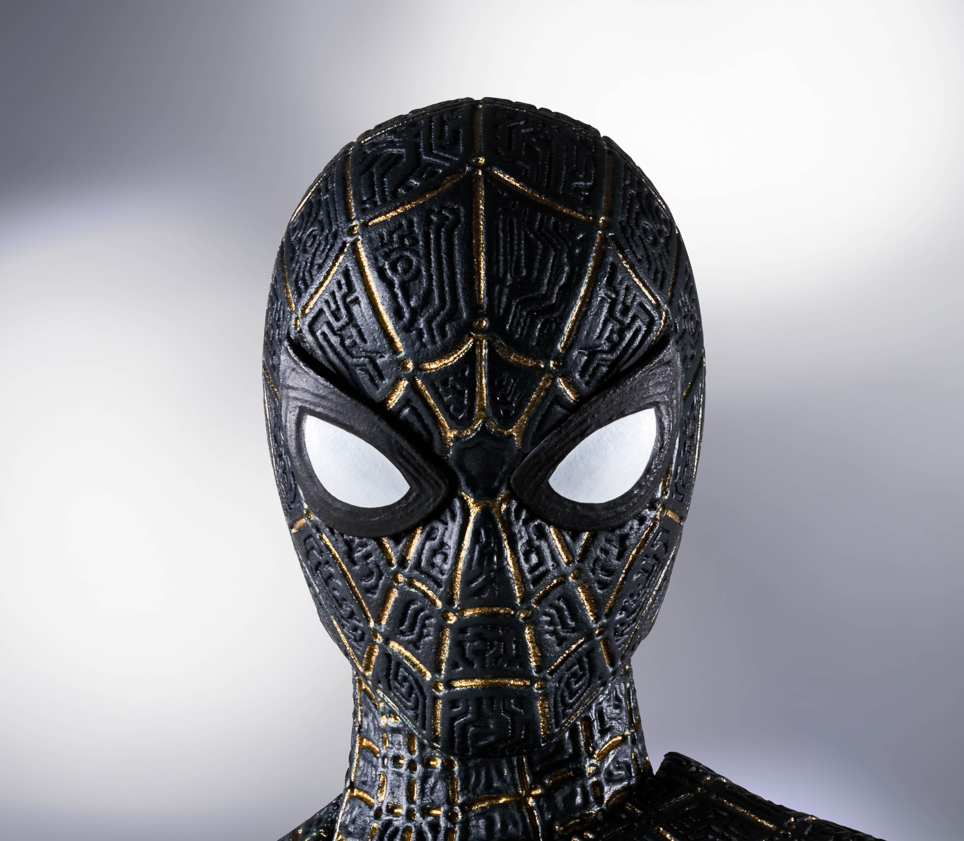 "Bandai Spirits S.H.Figuarts Spider-Man (Black & Gold Suit) Special Set ""Spider-Man: No Way Home"""