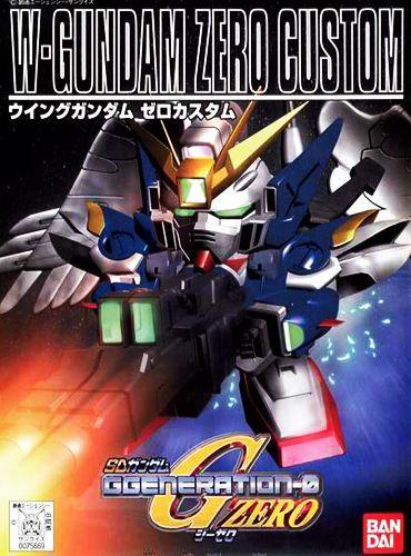 Bandai BB203 XXXG-00W0 W-Gundam Zero Custom