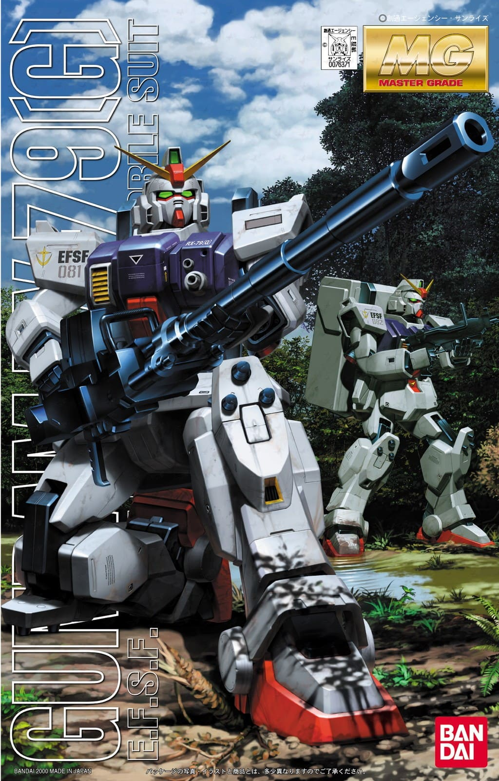 "Bandai RX-79[G] Gundam Ground Type ""Gundam 08th MS Team"", Bandai MG"