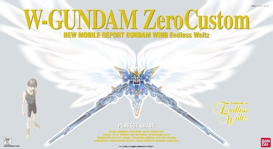 "Bandai Wing Gundam Zero (EW), ""Gundam Wing: Endless Waltz"", Bandai PG 1/60"