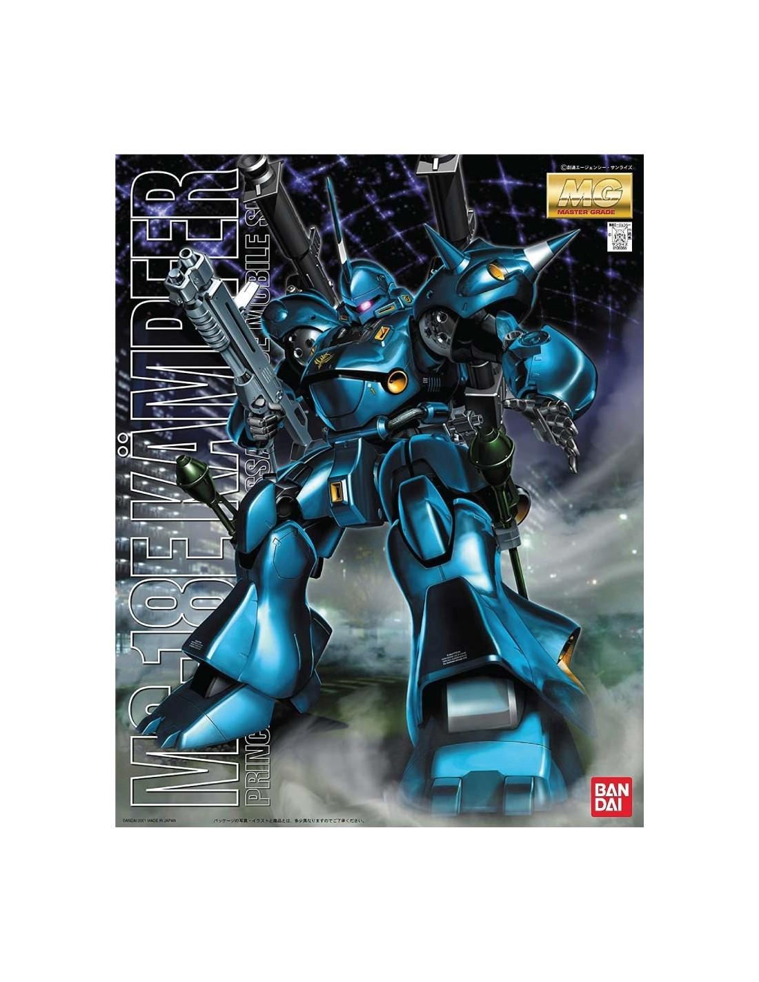 "Bandai MS-18E Kampfer ""Gundam 0080"", Bandai MG"