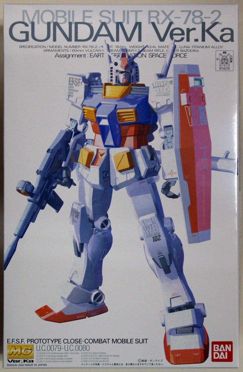 Bandai RX-78-2 GUNDAM Ver.KA, Bandai MG