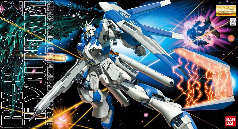 """Bandai RX-93 Hi-Nu Gundam """"Char's Counterattack"""", Bandai MG"""