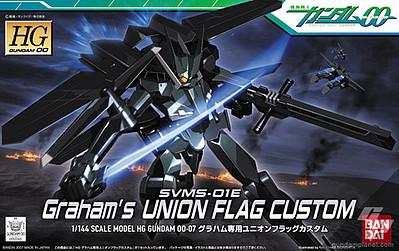 """Bandai #7 Union Flag Graham Custom """"Gundam 00"""", Bandai HG 00"""
