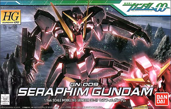 """Bandai #37 Seraphim Gundam """"Gundam 00"""", Bandai HG 00"""