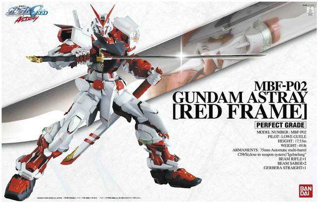 """Bandai Gundam Astray Red Frame """"Gundam SEED Astray"""", Bandai PG"""