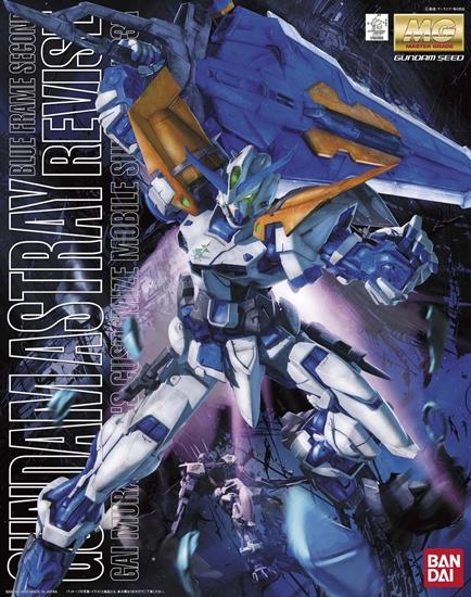 """Bandai Gundam Astray Blue Frame Second Revise """"Gundam SEED Astray"""", Bandai MG"""