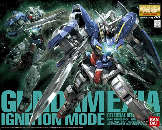 "Bandai Gundam Exia (Ignition Mode) ""Gundam 00"", Bandai MG"