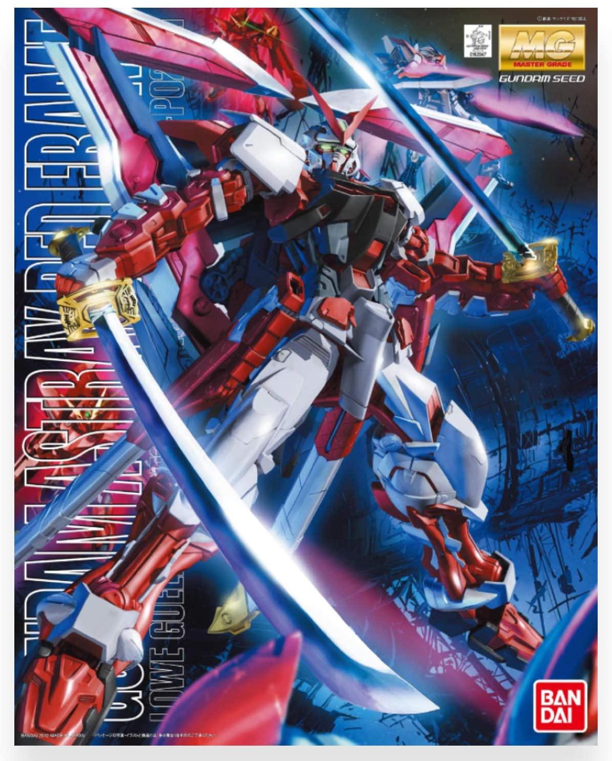 "Bandai Gundam Astray Red Frame Custom ""Gundam SEED Astray"", Bandai MG 1/100"