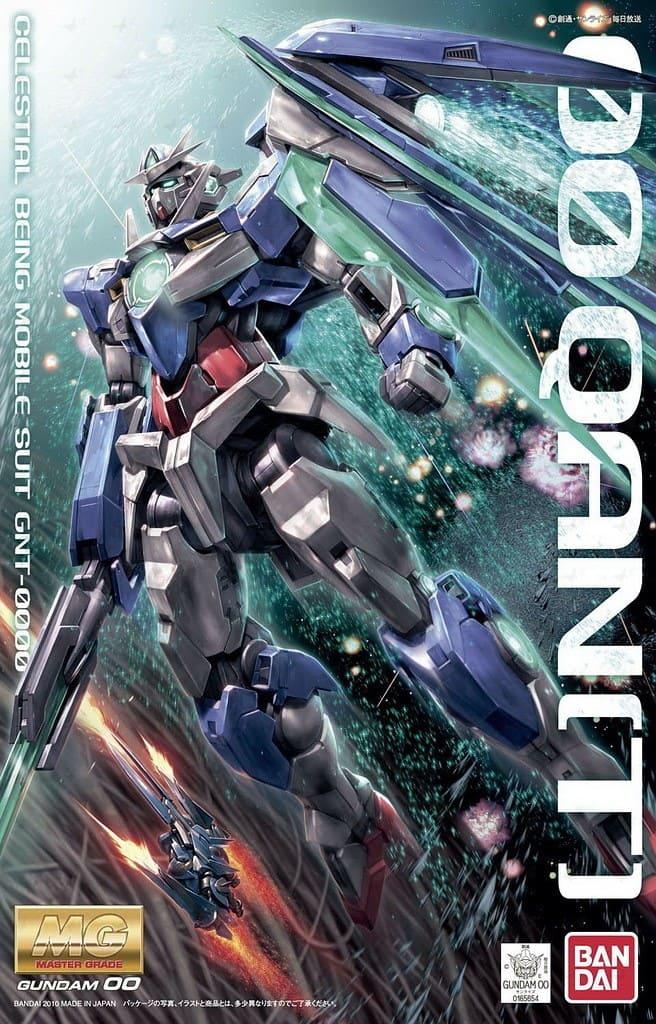 """Bandai 00 QAN[T] """"Gundam 00"""", Bandai MG"""