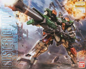 Bandai MG 1/100 Buster Gundam