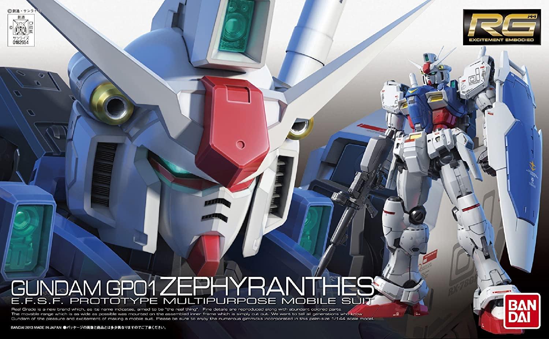 Bandai #12 RX78GP01 Gundam GP01 Zephyrantes, Bandai RG
