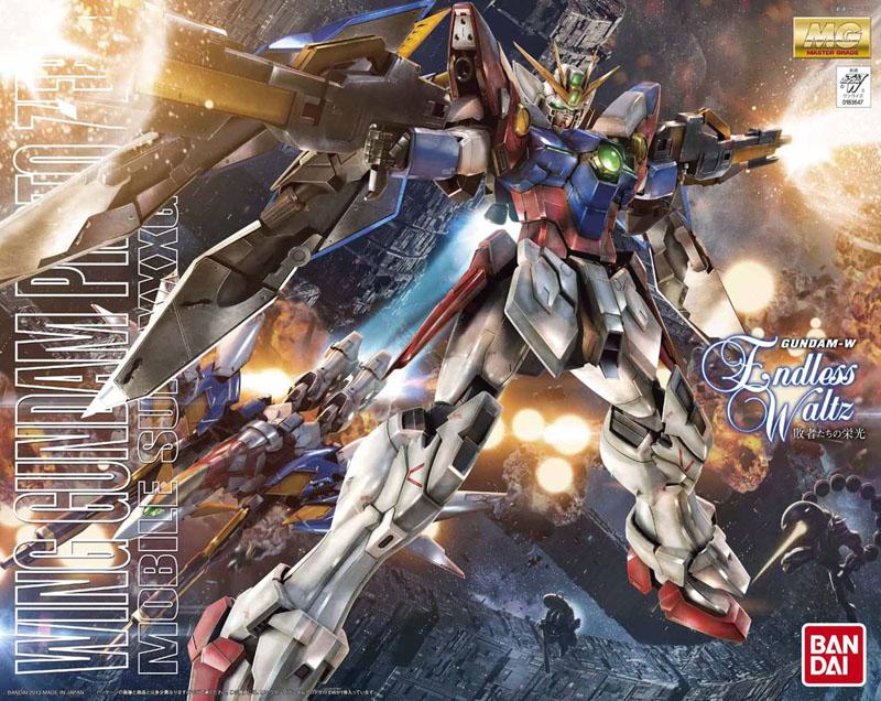 "Bandai Wing Gundam Proto Zero (EW), ""Gundam Wing: Endless Waltz"", Bandai MG"