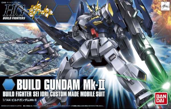 "Bandai #04 Build Gundam MK II ""Gundam Build Fighters"", Bandai HGBF"