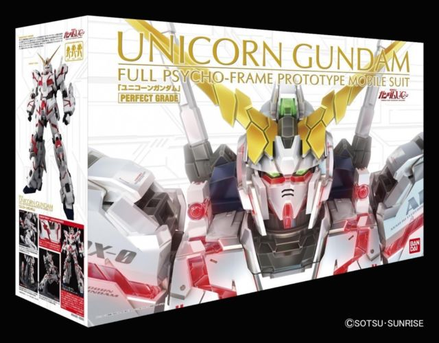 "Bandai Unicorn Gundam ""Gundam UC"", Bandai PG"