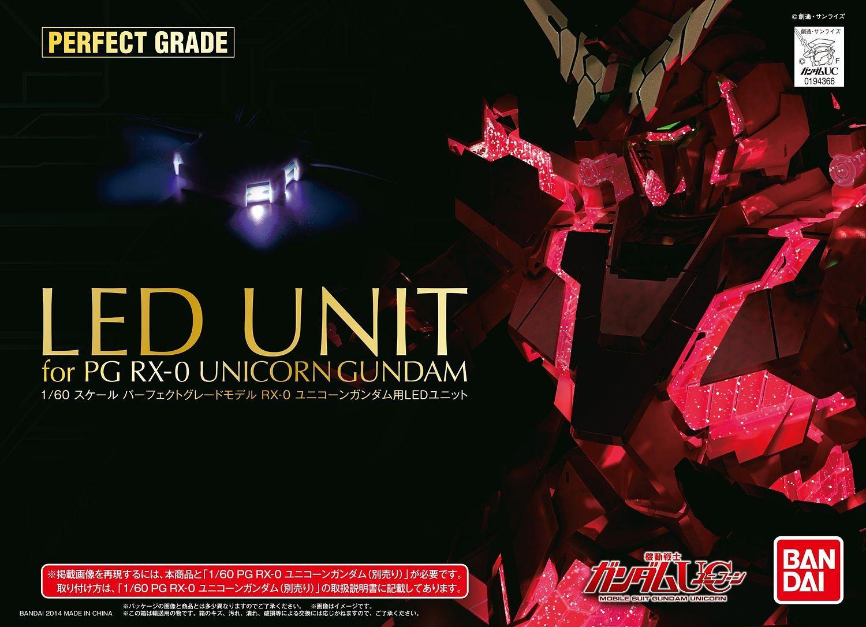 "Bandai Unicorn Gundam LED SET ""Gundam UC"", Bandai PG"