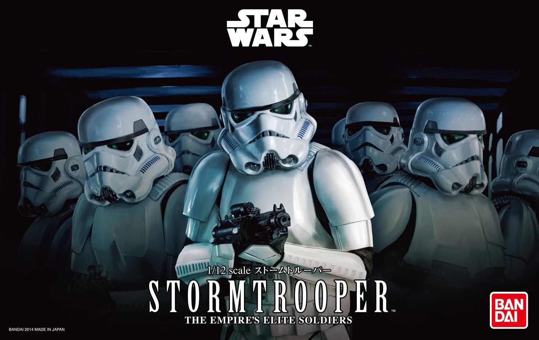 "Bandai Stormtrooper ""Star Wars"", Bandai Star Wars Character Line 1/12"