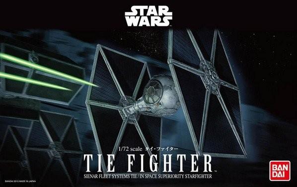 "Bandai Tie Fighter ""Star Wars"", Bandai Star Wars 1/72 Plastic Model"