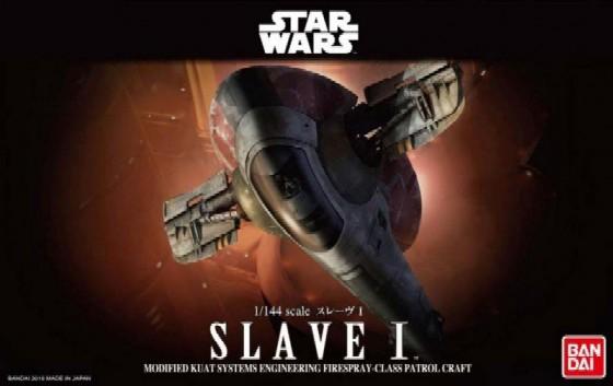 "Bandai Slave 1 ""Star Wars"", Bandai Star Wars 1/144 Plastic Model"