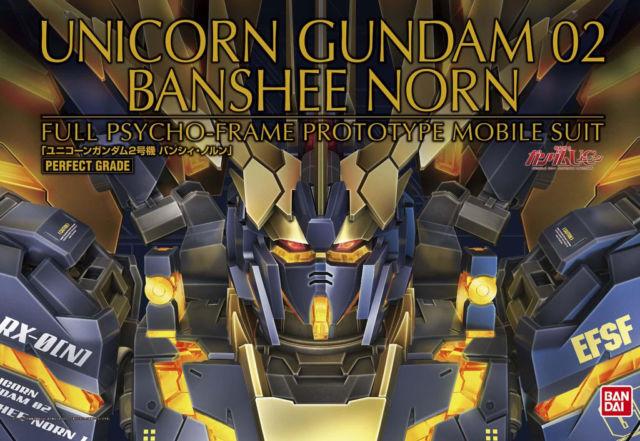 "Bandai Unicorn Gundam 02 Banshee Norn ""Gundam UC"", Bandai PG"