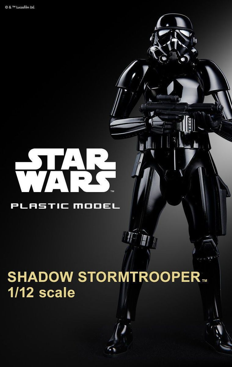 "Bandai Shadow Stormtrooper ""Star Wars"", Bandai Star Wars Character Line 1/12"