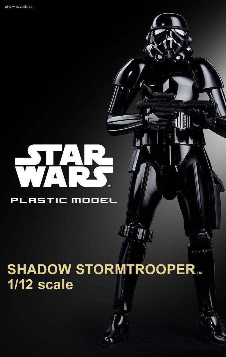 """Bandai Shadow Stormtrooper """"Star Wars"""", Bandai Star Wars Character Line 1/12"""