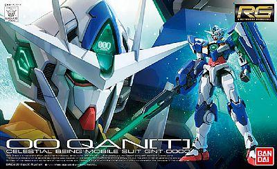 "Bandai #21 00 QAN[T] ""Gundam 00"", Bandai RG 1/144"