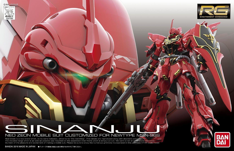 """Bandai #22 Sinanju """"Gundam UC"""", Bandai RG Continued..."""