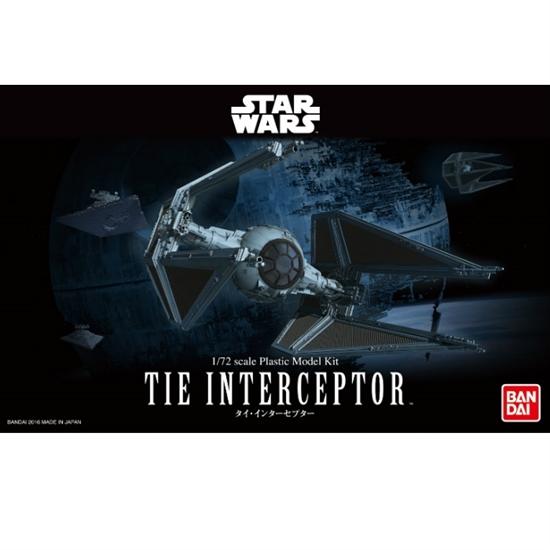 Bandai Star Wars 1/72 TIE Interceptor
