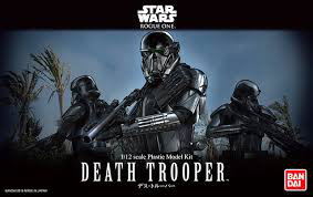 "Bandai Death Trooper ""Star Wars"", Bandai Star Wars Character Line 1/12"