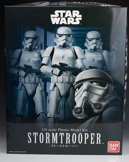 "Bandai Stormtrooper ""Star Wars"", Bandai Star Wars Character Line 1/6"