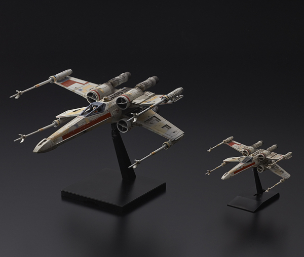 "Bandai Red Squadron X-Wing Starfighter Special Set ""Rogue One"", Bandai Star Wars 1/72 Plastic Model"