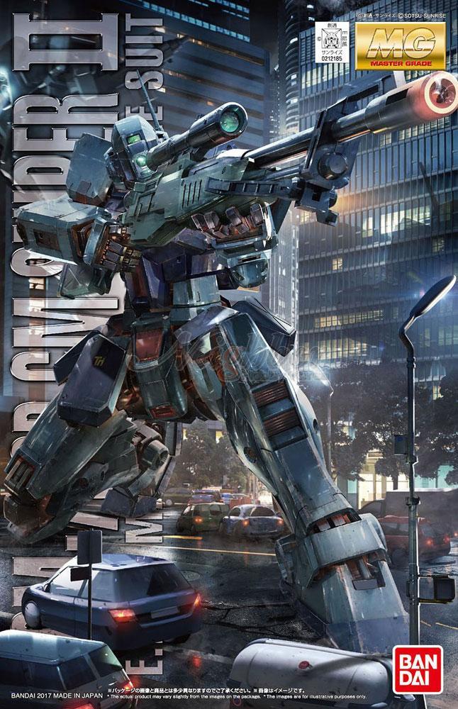 "Bandai GM Sniper II ""Gundam 0080"", Bandai MG 1/100"