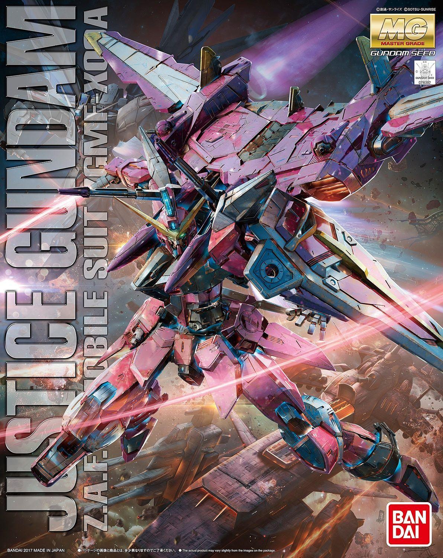 "Bandai Justice Gundam ""Gundam SEED"", Bandai MG"