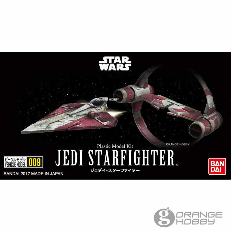 "Bandai 009 Jedi Star Fighter ""Star Wars"", Bandai VM"