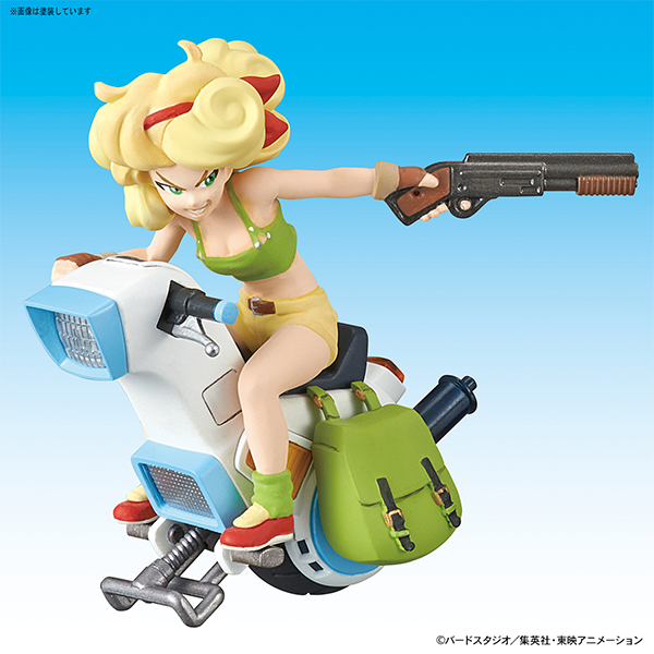 "Bandai Vol.3 Launch One-Wheel Motorcycle ""Dragon Ball"", Bandai Mecha Collection"