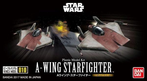 Bandai Star Wars Vehicle Model 010 A-Wing Starfighter