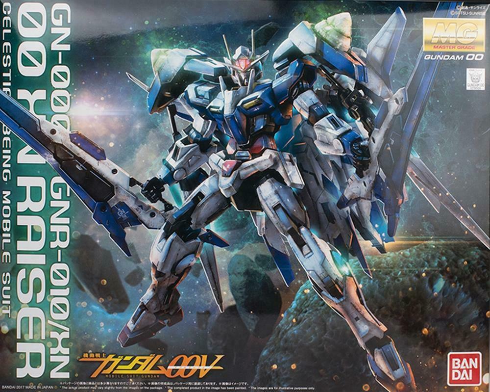 "Bandai 00 XN Raiser ""Gundam 00"", Bandai MG 1/100"