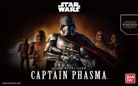 "Bandai Captain Phasma ""Star Wars"", Bandai Star Wars Character Line 1/12"