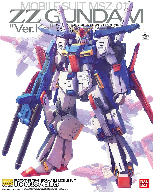 "Bandai ZZ Gundam (Ver.Ka) ""ZZ Gundam"", Bandai MG 1/100"