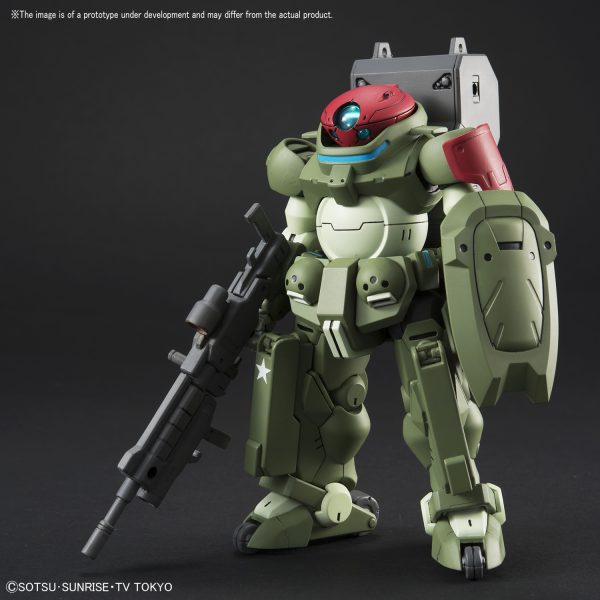 "Bandai #03 Grimoire Red Beret ""Gundam Build Divers"", Bandai HGBD 1/ 144"