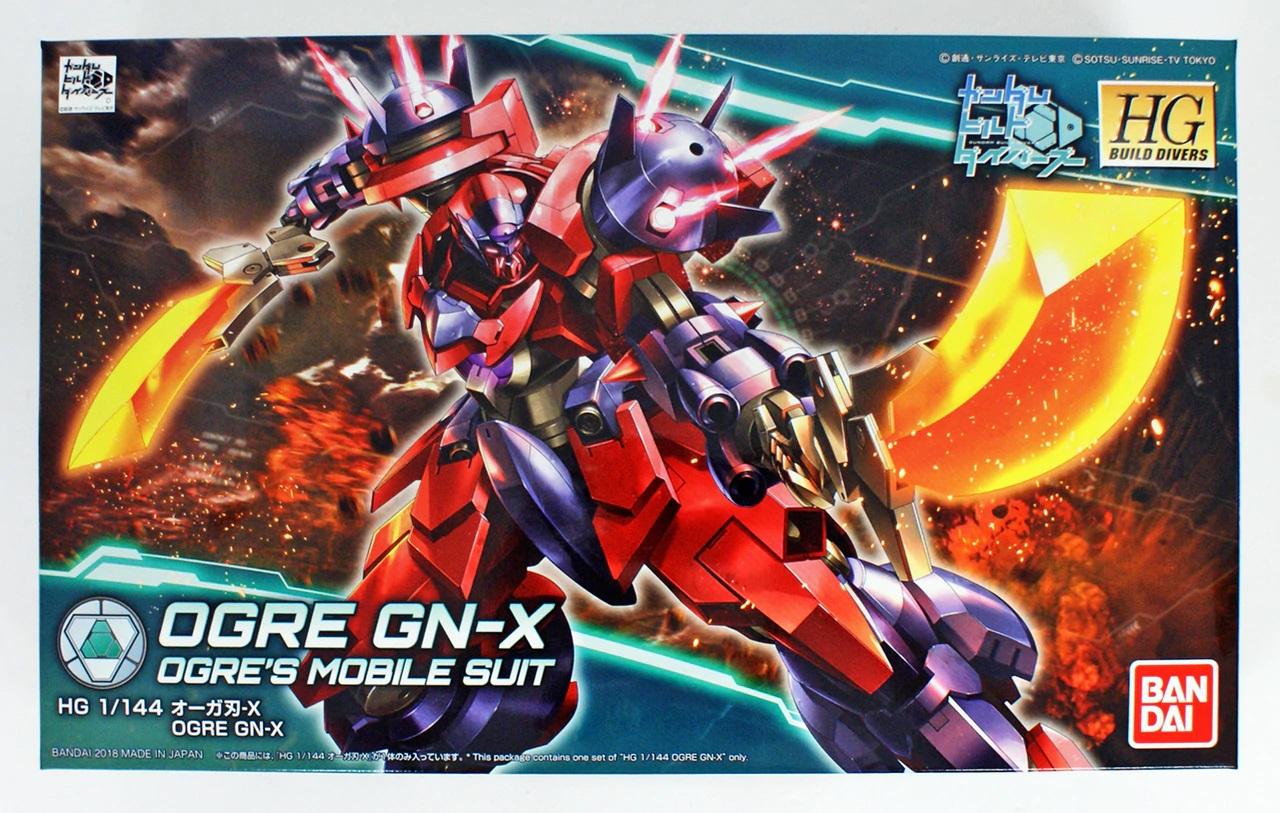 """Bandai #05 Ogre GN-X """"Gundam Build Divers,"""" Bandai HGBD 1/144"""