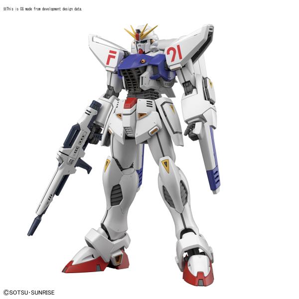 """Bandai Gundam F91 (Ver 2.0) """"Gundam F91"""", Bandai MG 1/100"""