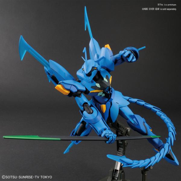 "Bandai #07 Geara Ghirarga ""Gundam Build Divers"", Bandai HGBD 1/144"