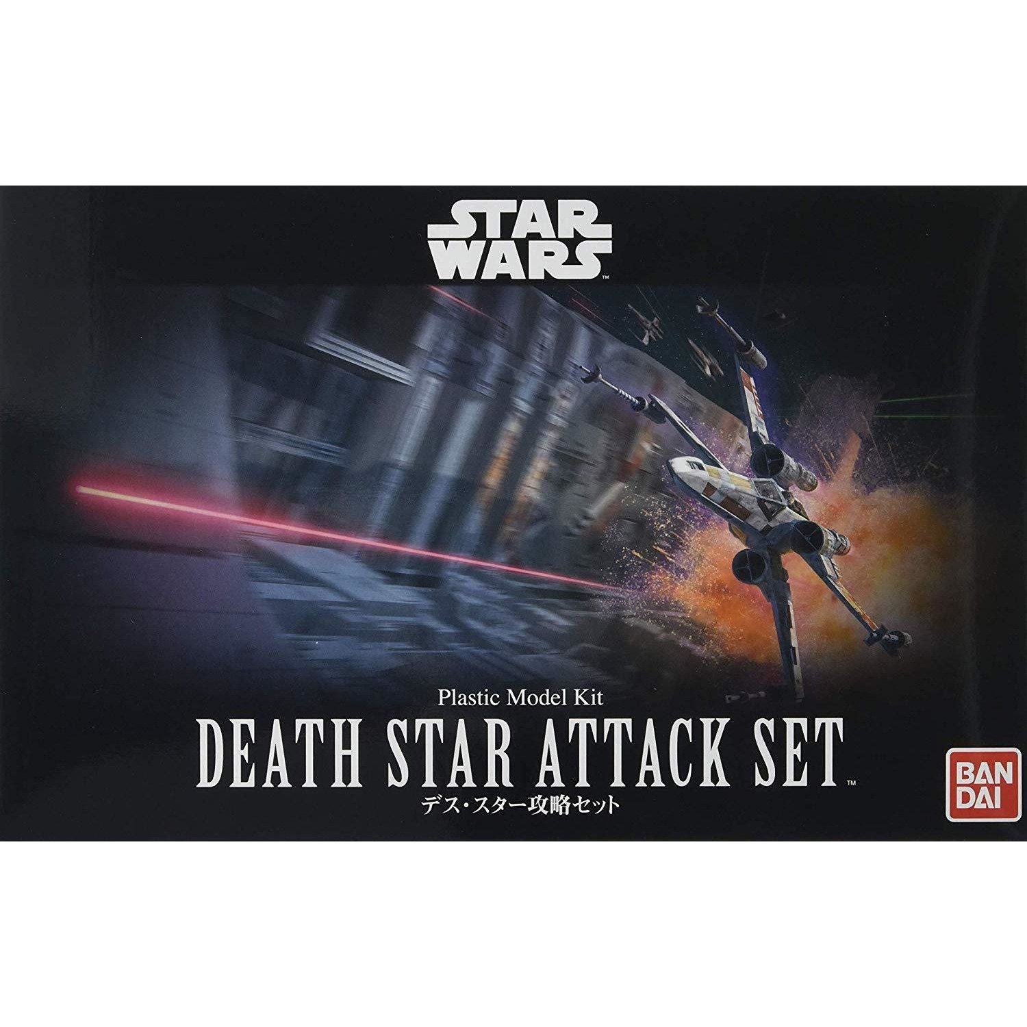 "Bandai Death Star Attack Set ""Star Wars"", Bandai Star Wars 1/144 Plastic Model"