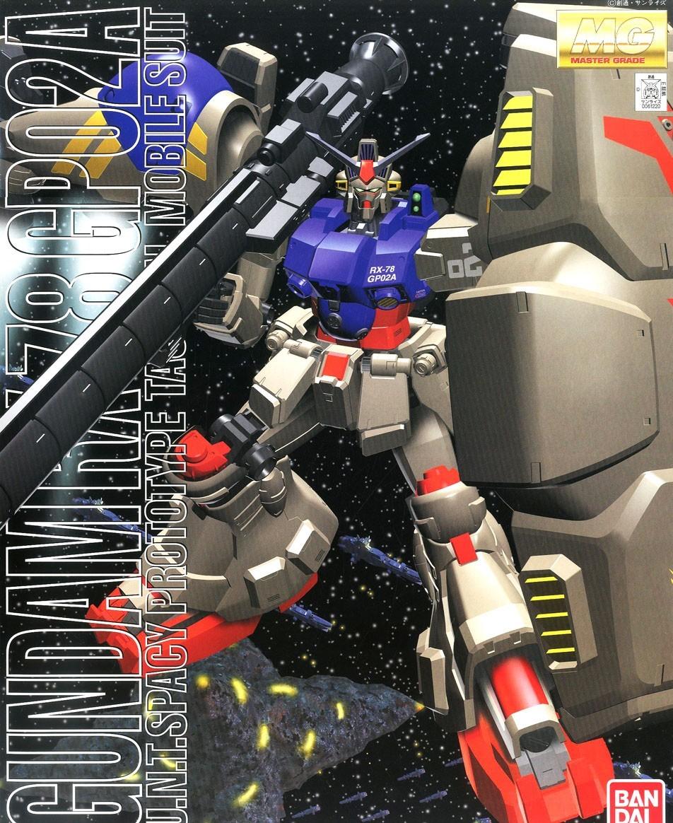 "Bandai MG RX-78GP02A Gundam GP02 Physalis ""Gundam 0083"""