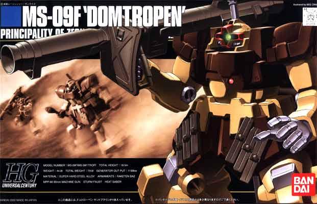 "Bandai HGUC 1/144 #27 Dom Tropen (Sand Brown) ""Gundam 0083"""